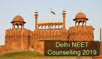 Delhi NEET Counselling 2019