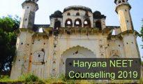 Haryana NEET Counselling 2019