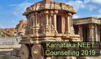 Karnataka NEET Counselling 2019