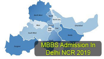 Delhi NCR MBBS/BDS Admission 2019: Counselling Dates & Admission
