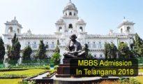 MBBS Admission in telangana