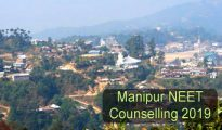 Manipur NEET Counselling 2019