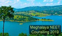 Meghalaya NEET Counselling 2019