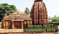 Mizoram NEET Counselling 2019