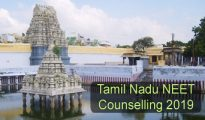 Tamil Nadu NEET Counselling 2019