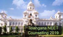 Telangana NEET Counselling 2019