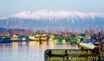 mbbs admission in jk 2019