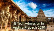 B.Tech Admission in Andhra Pradesh 2020