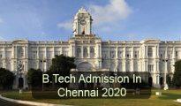 BTech Admission in Chennai 2020