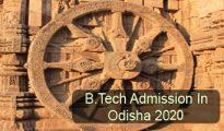 BTech Admission in Odisha 2020