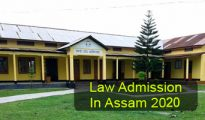 Law Admission in Assam 2020