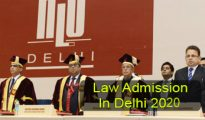 Law Admission in Delhi 2020