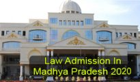 Law Admission in Madhya Pradesh 2020