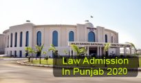 Law Admission in Punjab 2020