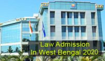 Law Admission in West Bengal 2020