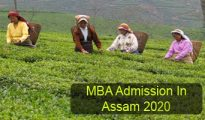 MBA Admission in Assam 2020