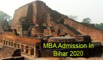 MBA Admission in Bihar 2020