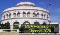 MBA Admission in Chennai 2020
