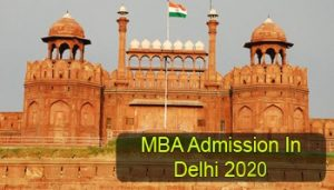 MBA Admission in Delhi 2020