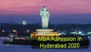 MBA Admission in Hyderabad 2020