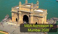 MBA Admission in Mumbai 2020