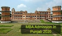 MBA Admission in Punjab 2020