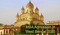MBA Admission in West Bengal 2020