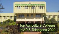 Top Agriculture Colleges in AP & Telangana 2020