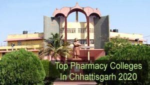Top Pharmacy Colleges in Chhattisgarh 2020
