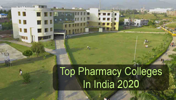 Top Pharmacy Colleges in India 2020