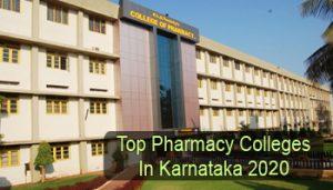 Top Pharmacy Colleges in Karnataka 2020