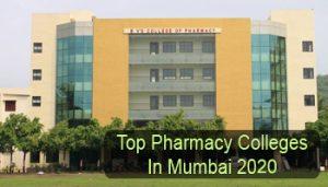 Top Pharmacy Colleges in Mumbai 2020