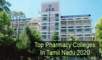 Top Pharmacy Colleges in Tamil Nadu 2020