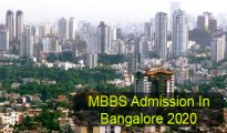MBBS Admission in Bangalore 2020