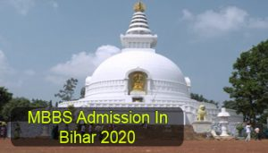 MBBS Admission in Bihar 2020