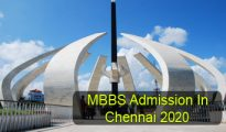 MBBS Admission in Chennai 2020