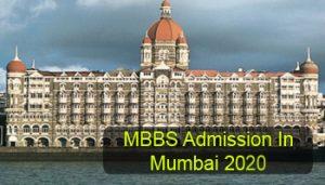 MBBS Admission in Mumbai 2020