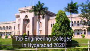 Top Engineering Colleges in Hyderabad 2020