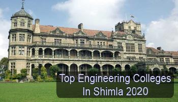 Top Engineering Colleges in Shimla 2020