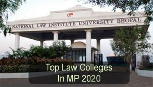 Top Law Colleges in Madhya Pradesh 2020