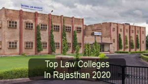 Top Law Colleges in Rajasthan 2020