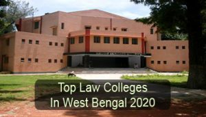 Top Law Colleges in West Bengal 2020