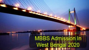 MBBS Admission in West Bengal 2020