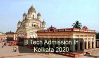 B.Tech Admission in Kolkata 2020