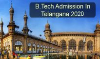 B.Tech Admission in Telangana 2020