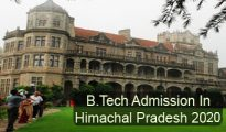 BTech Admission in Himachal Pradesh 2020