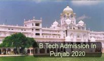 BTech Admission in Punjab 2020