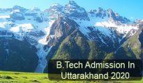 BTech Admission in Uttarakhand 2020