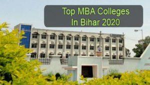 Top MBA Colleges in Bihar 2020