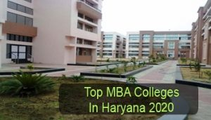 Top MBA Colleges in Haryana 2020